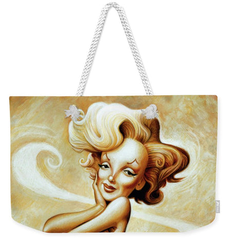 Tribute To Marilyn Monroe - Weekender Tote Bag