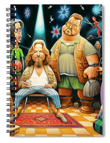 Tribute To The Big Lebowski - Spiral Notebook