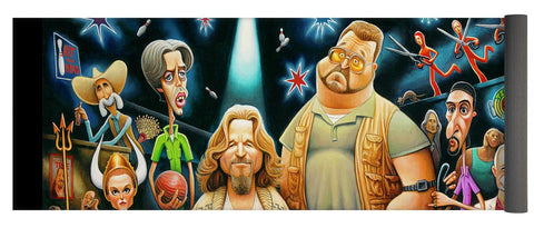 Tribute To The Big Lebowski - Yoga Mat