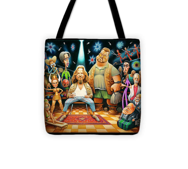 Tribute To The Big Lebowski - Tote Bag