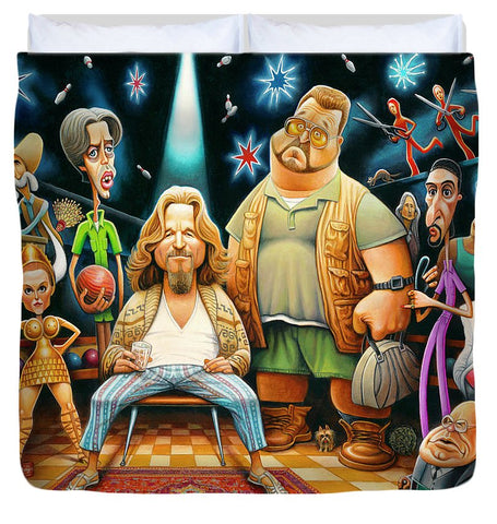 Tribute To The Big Lebowski - Duvet Cover