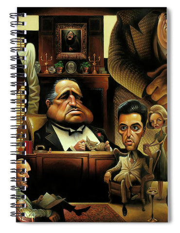 Tribute To The Godfather - Spiral Notebook