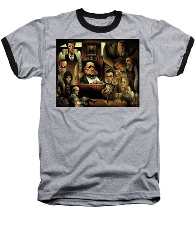Tribute To The Godfather - Baseball T-Shirt