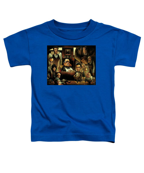 Tribute To The Godfather - Toddler T-Shirt
