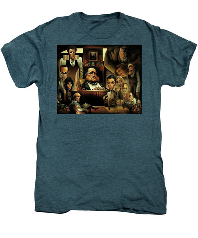 Tribute To The Godfather - Men's Premium T-Shirt