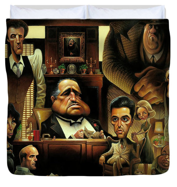 Tribute To The Godfather - Duvet Cover