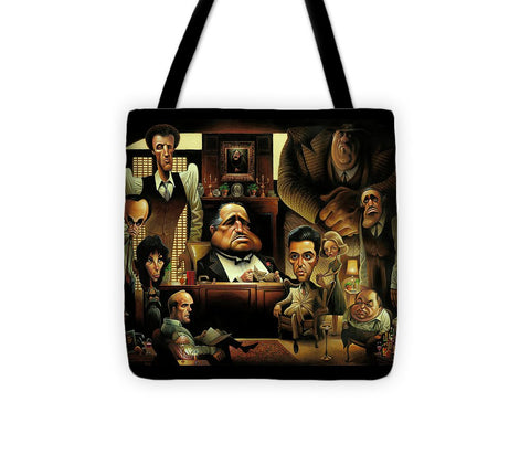 Tribute To The Godfather - Tote Bag