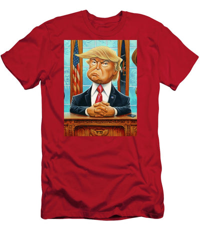 Tribute To Trump - Men's T-Shirt (Athletic Fit)
