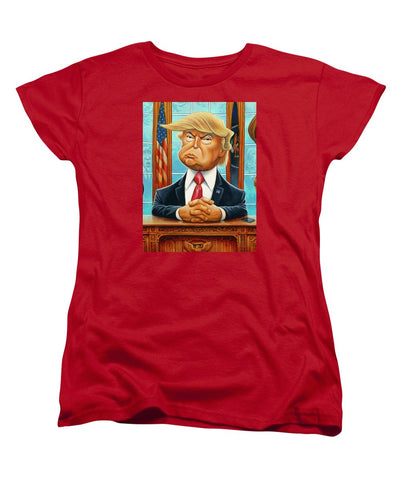 Tribute To Trump - Women's T-Shirt (Standard Fit)