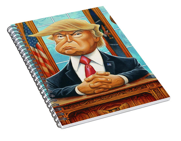 Tribute To Trump - Spiral Notebook