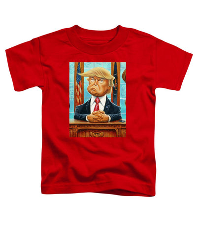 Tribute To Trump - Toddler T-Shirt