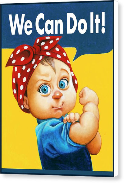 We Can Do It - Canvas Print