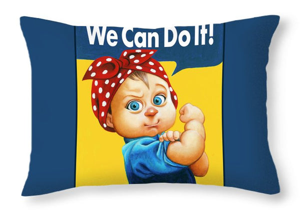 We Can Do It - Throw Pillow