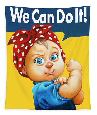 We Can Do It - Tapestry