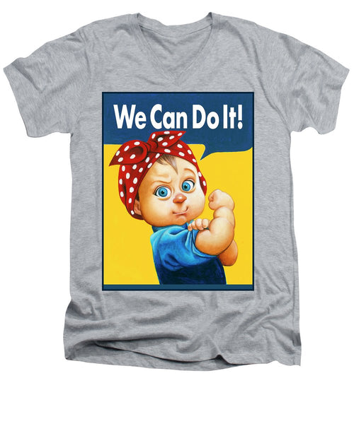 We Can Do It - Men's V-Neck T-Shirt