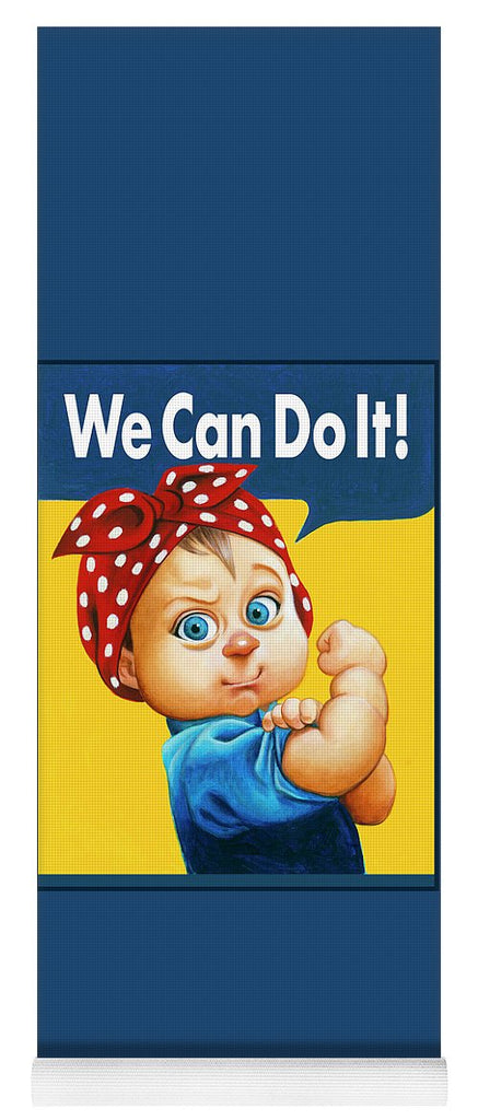 We Can Do It - Yoga Mat