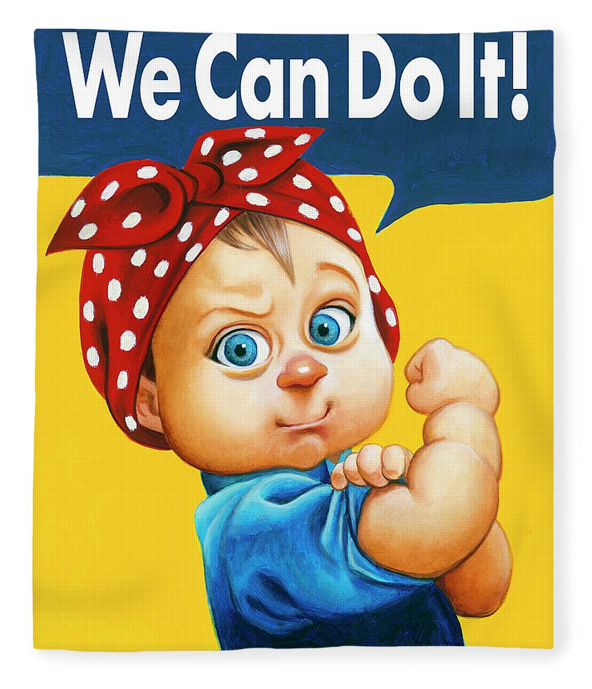 We Can Do It - Blanket