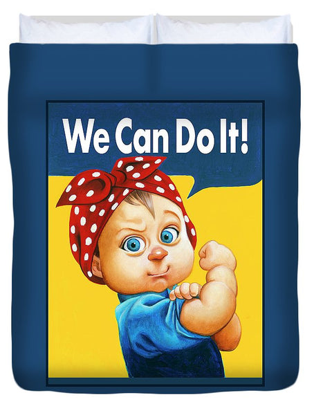 We Can Do It - Duvet Cover