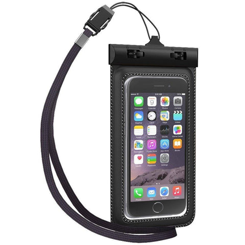 Everything4less-UK - Universal Waterproof Sports Pouch Case For Smartphones (5 Inches)