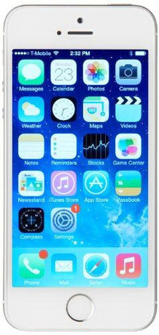 Apple iPhone 5S 16GB Silver [Wireless Phone Accessory]