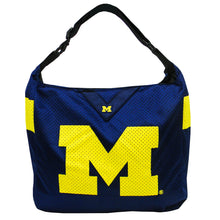 Load image into Gallery viewer, University of Michigan Team Jersey Tote