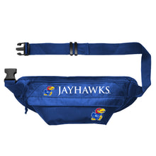 Load image into Gallery viewer, University of Kansas Large Fanny Pack