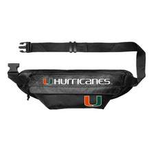 Load image into Gallery viewer, University of Miami Large Fanny Pack