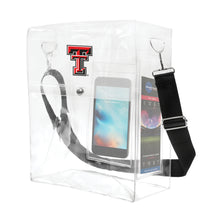 Load image into Gallery viewer, Texas Tech University Clear Ticket Satchel