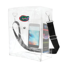 Load image into Gallery viewer, University of Florida Clear Ticket Satchel
