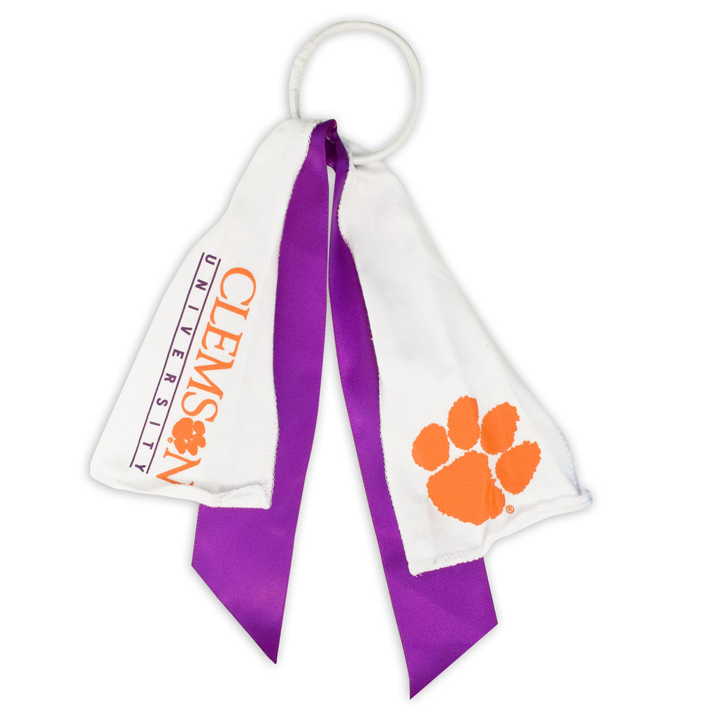 Clemson Tigers Ponytail Holder