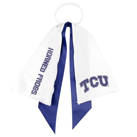 TCU Horned Frogs Ponytail Holder