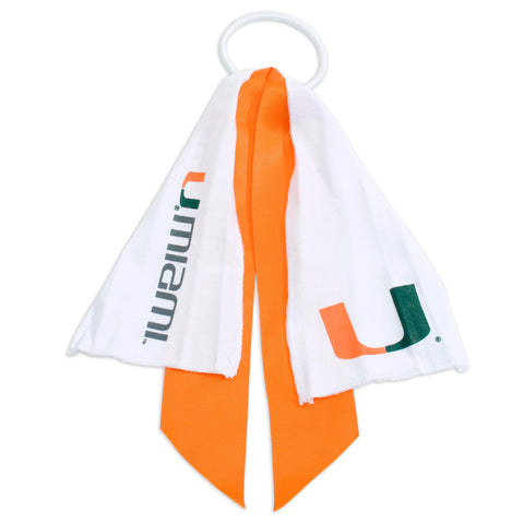 Miami Hurricanes Ponytail Holder