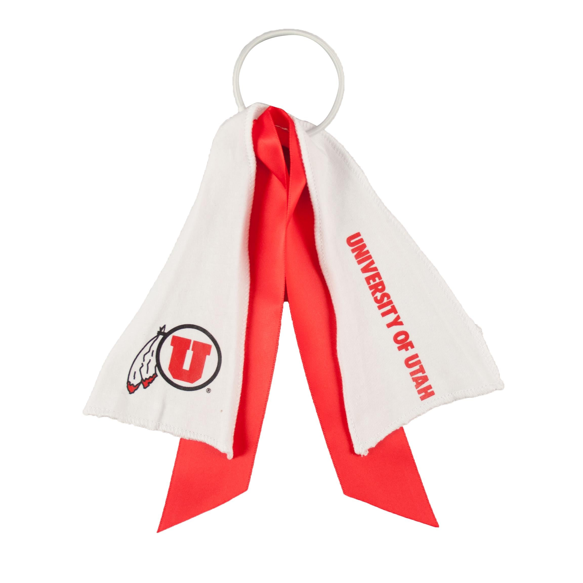 Utah Utes Ponytail Holder