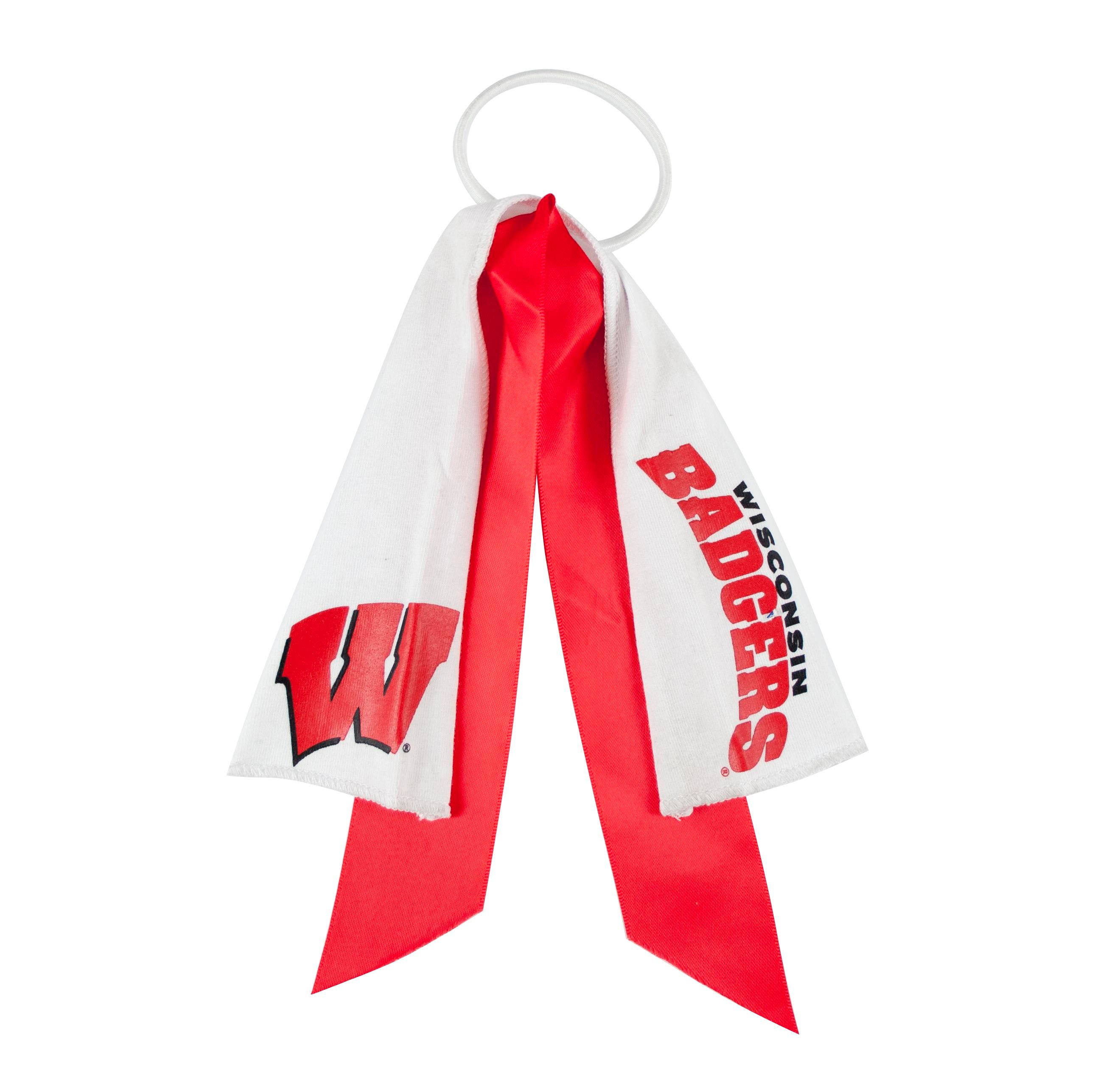 Wisconsin Badgers Ponytail Holder