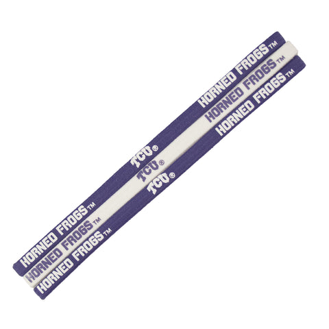 TCU Horned Frogs Elastic Headband
