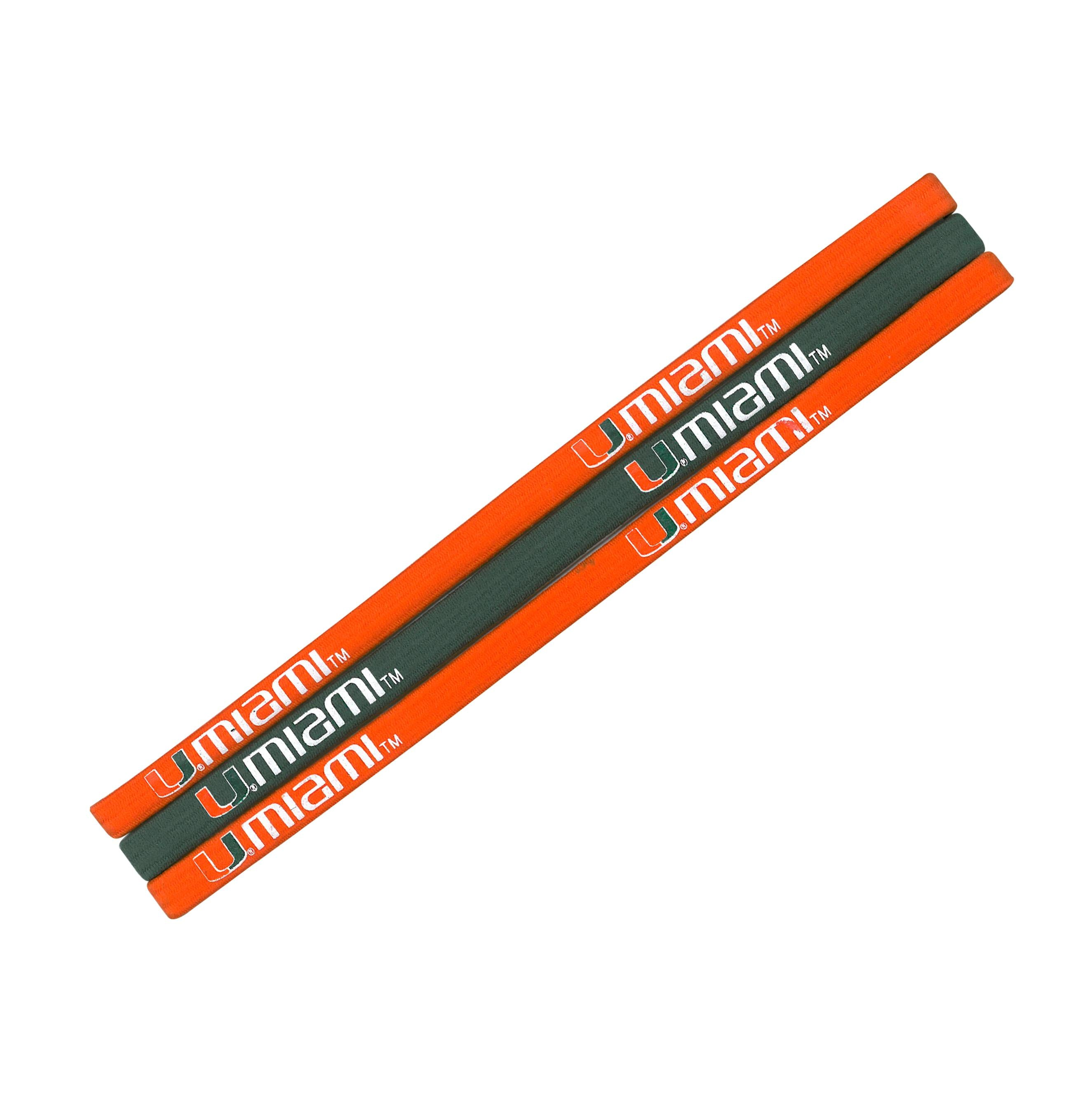 Miami Hurricanes Elastic Headband