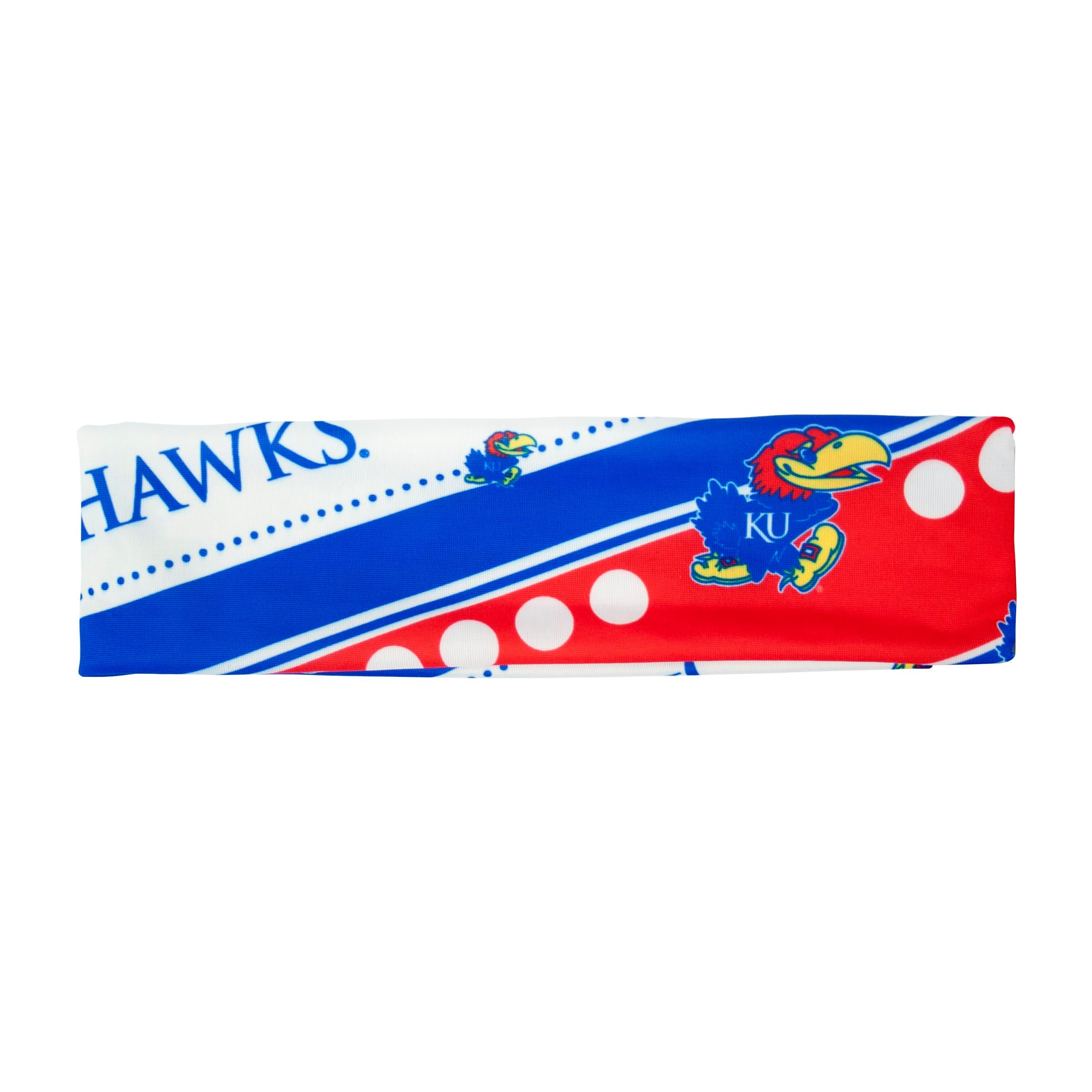 Kansas Jayhawks Stretch Headband