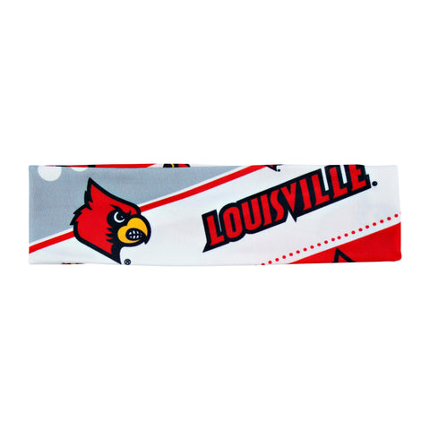Louisville Cardinals Stretch Headband