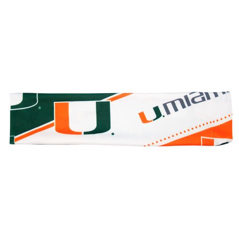 Miami Hurricanes Stretch Headband