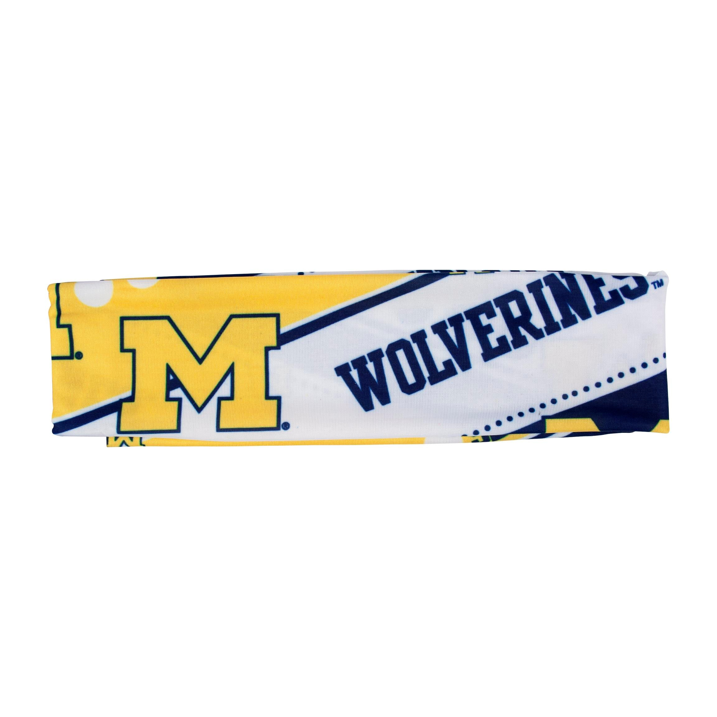 Michigan Wolverines Stretch Headband