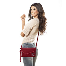 Load image into Gallery viewer, University of South Carolina Fold Over Crossbody Pebble