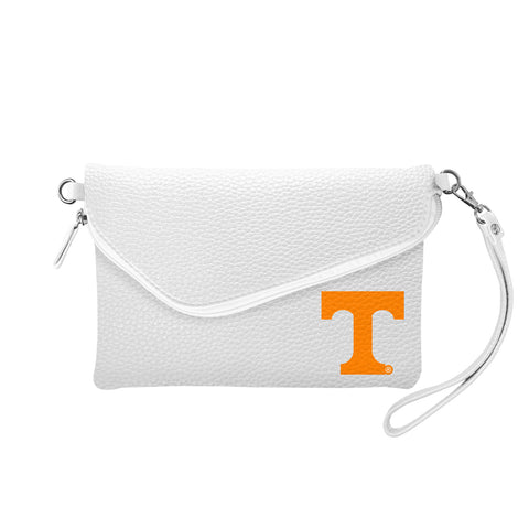 University of Tennessee Fold Over Crossbody Pebble