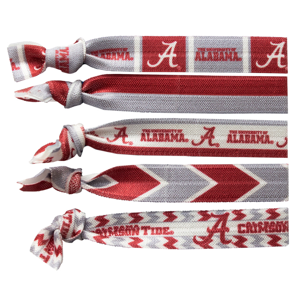 University of Alabama Knotted Hair Tie