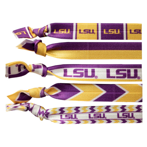 Louisiana State University Knotted Hair Tie