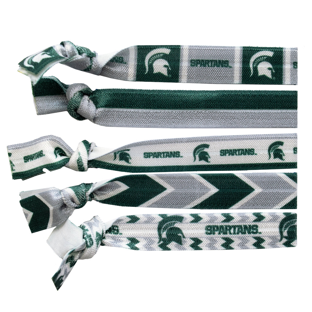 Michigan State University Knotted Hair Tie
