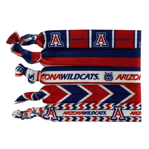 University of Arizona Knotted Hair Tie