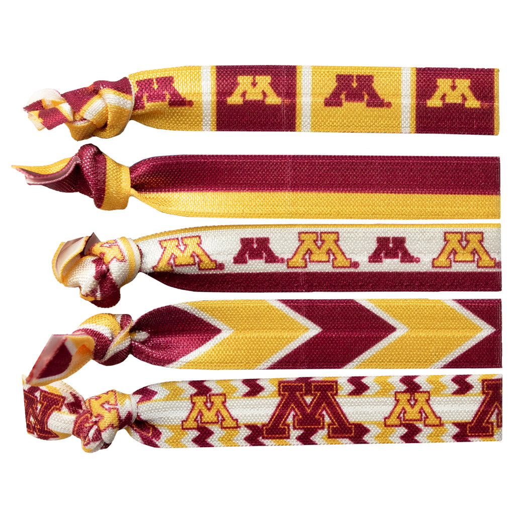 University of Minnesota Knotted Hair Tie