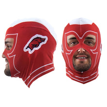 Load image into Gallery viewer, University of Arkansas Fan Mask