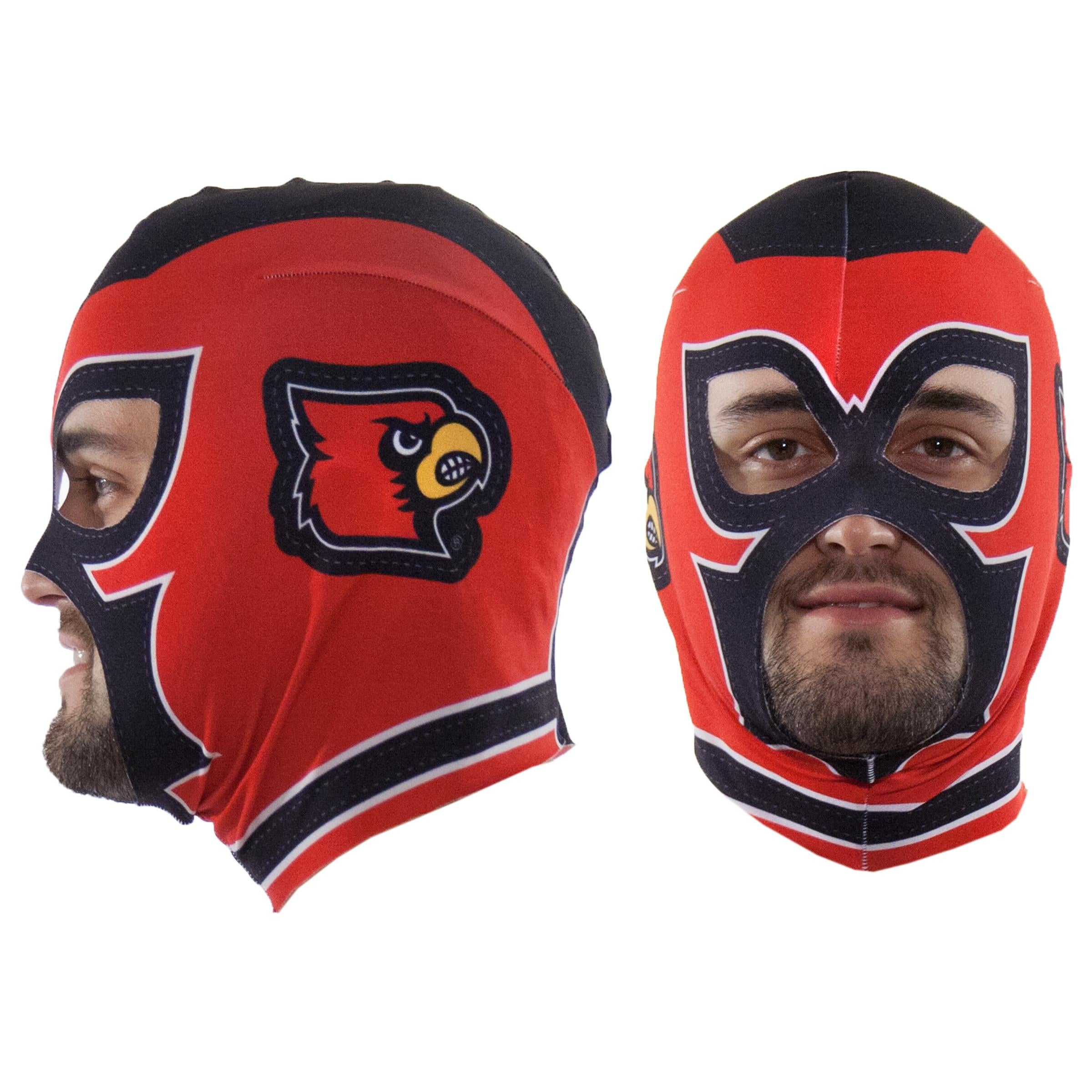 Louisville Cardinals Fan Mask
