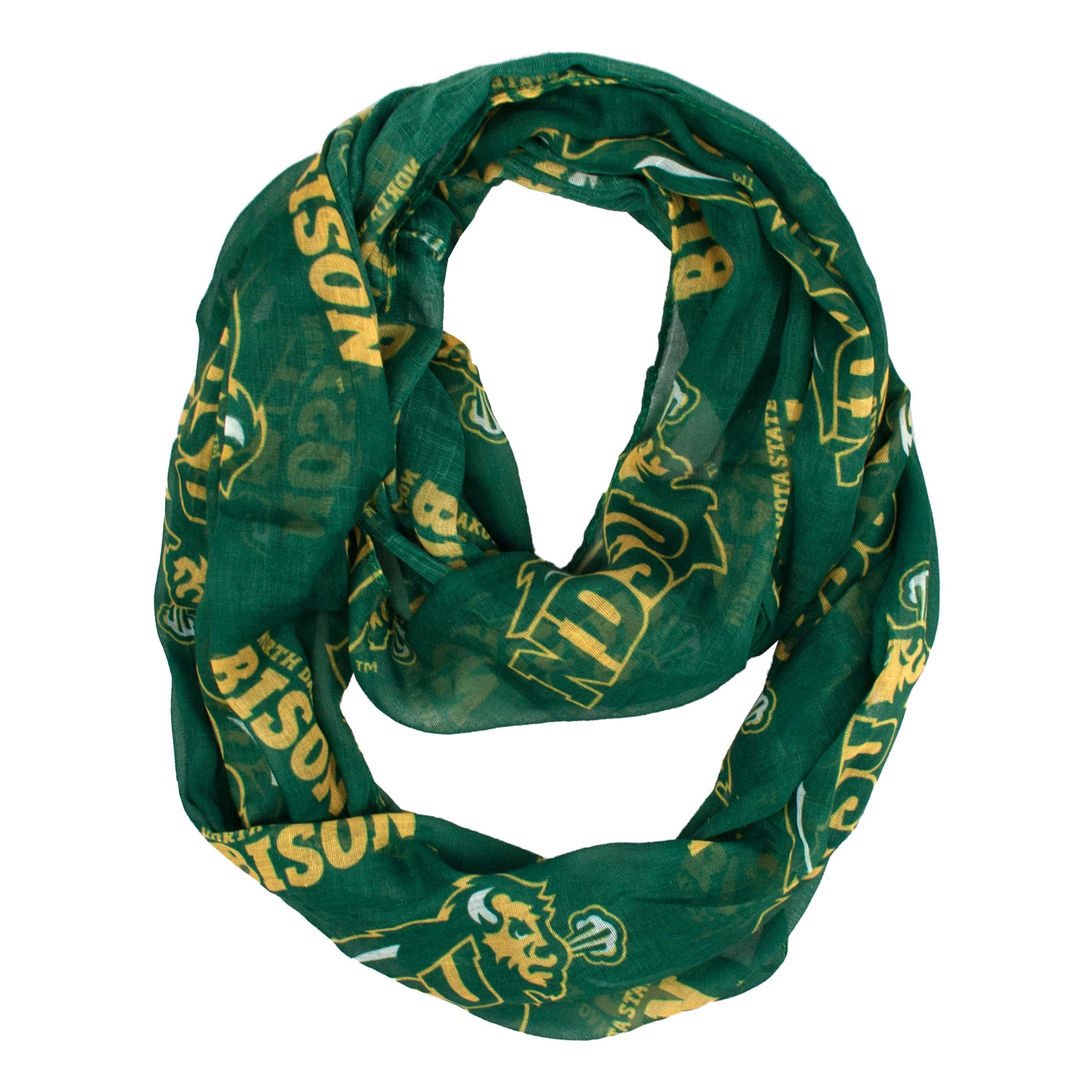 North Dakota State Bisons Sheer Infinity Scarf